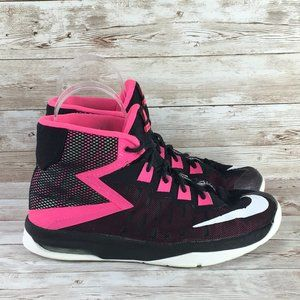 Nike Air Devosion Black Pink Basketball